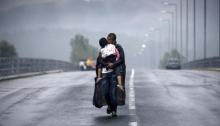 Ο πατέρας υπερήρωας © REUTERS / Yannis Behrakis
