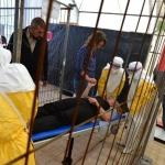 Κέντρο Εκπαίδευσης Ebola στις Βρυξέλλες / © N'gadi Ikram