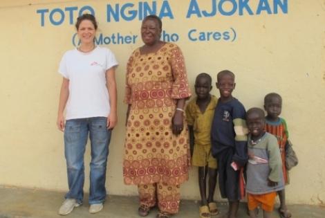 Στιγμές αποστολής από τη Δήμητρα Καλογεροπούλου, συντονίστρια προγράμματος των ΓΧΣ στην Ουγκάντα. © MSF
